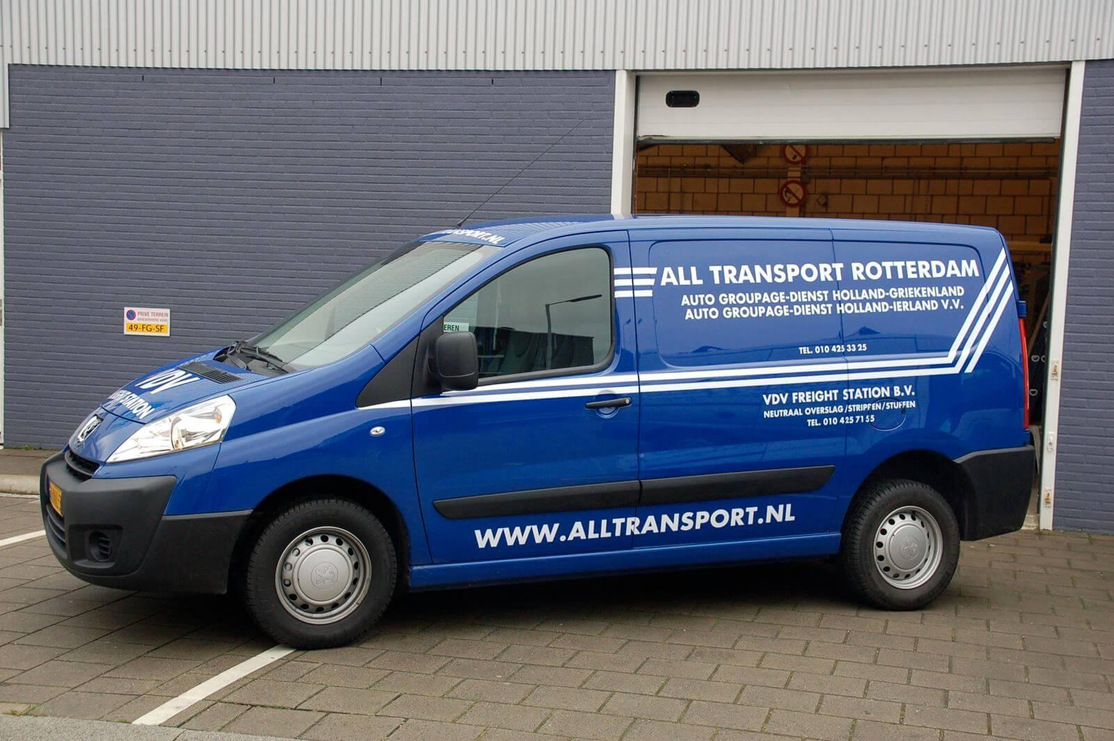 All Transport - Belettering