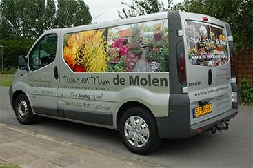 De Mollen - Belettering