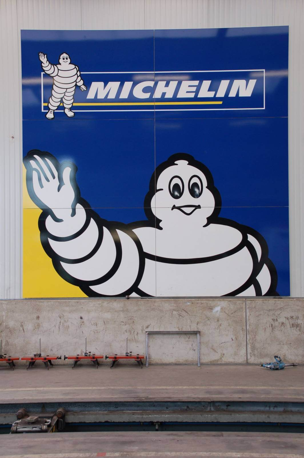 Michelin - Reclamebord