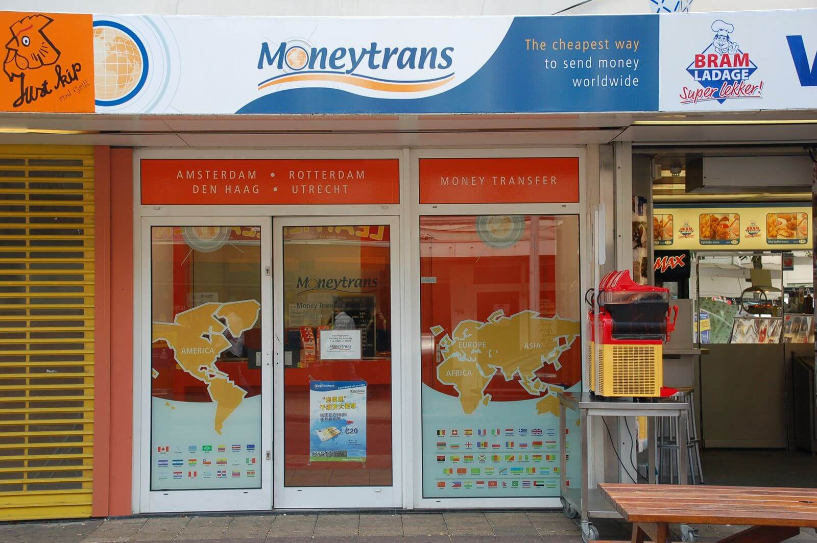 Moneytrans - Gevelreclame